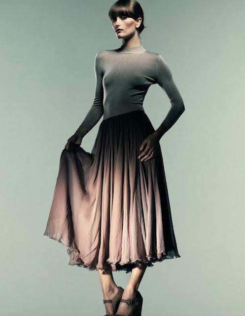 Французская романтика: как выбрать повседневное и вечернее платье в стиле прованс 17