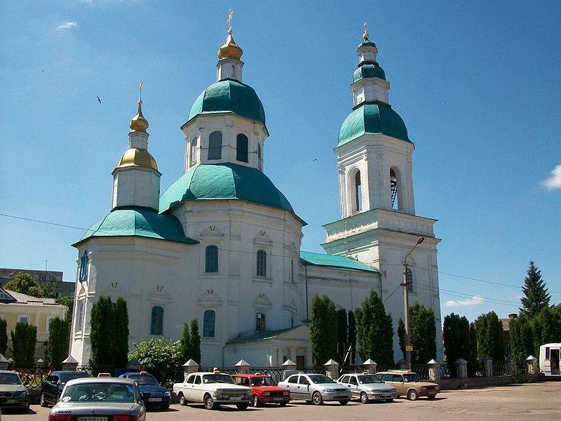 Николаевская церковь в Глухове, 1693.