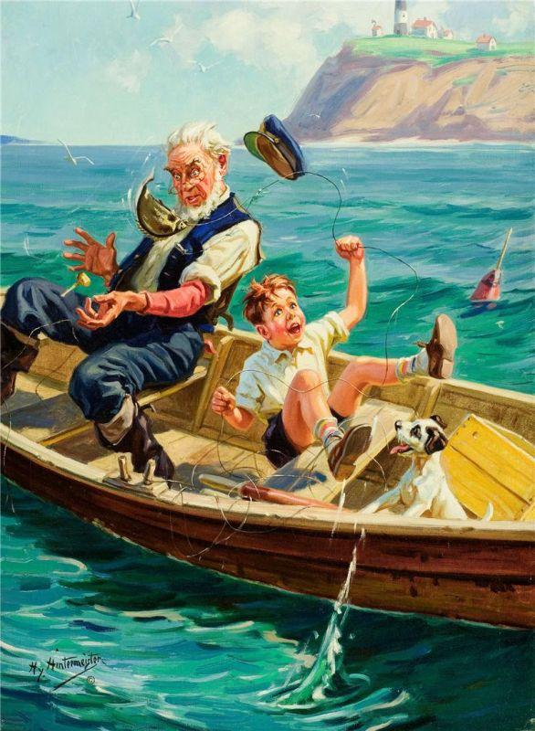 рыболов дед