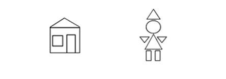 Из каких геометрических фигур составлены эти рисунки? Оценка