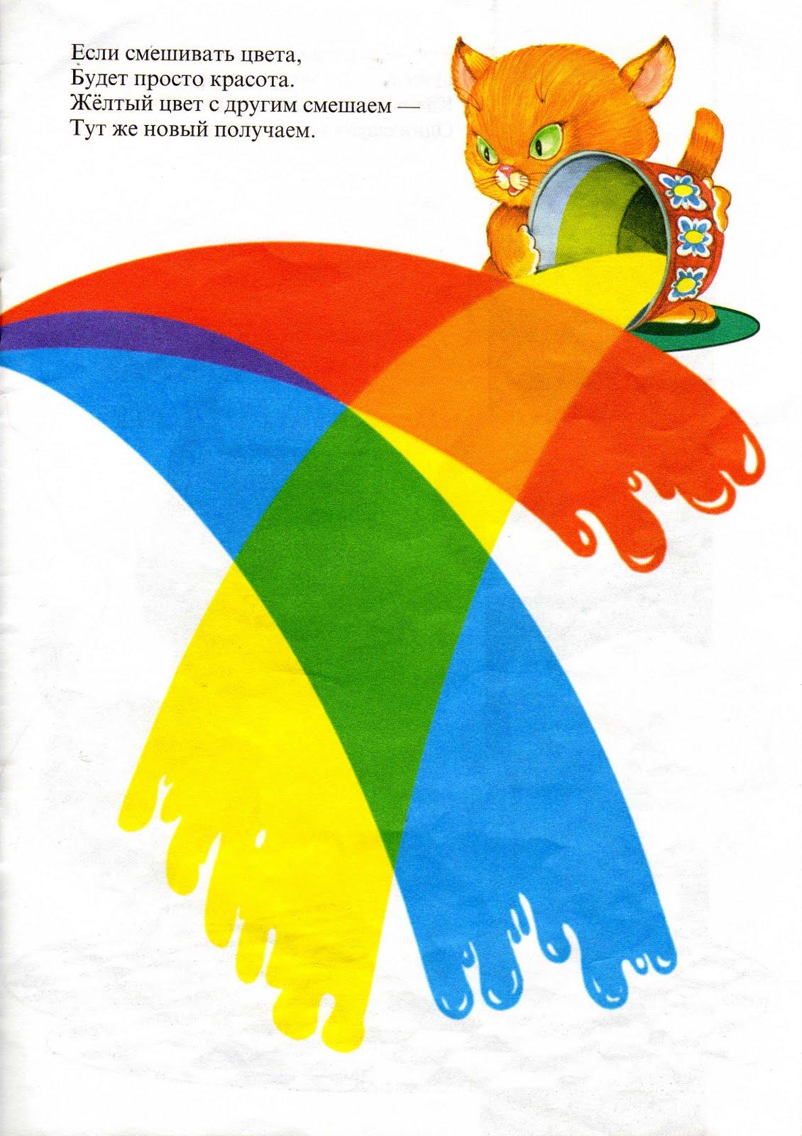 Вчимо кольори та геометричні фігури